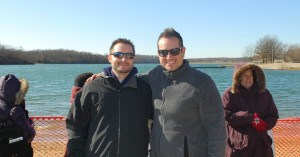 Michael Stults & Steve Hugunin- Polar Bear Plunge KC 2012
